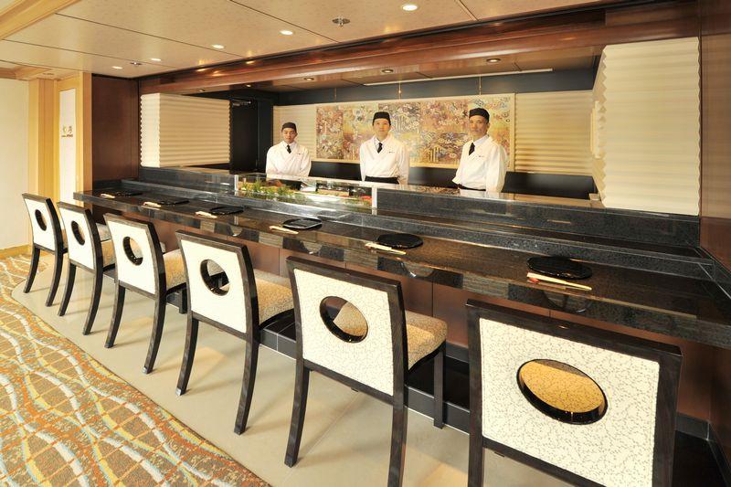 にっぽん丸 寿司カウンター