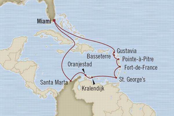 オーシャニア カリブ海
