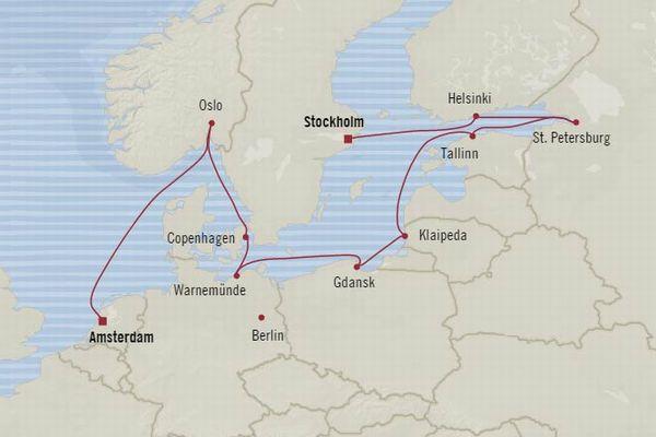 北欧・バルト海