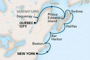 カナダ・ニューイングランド