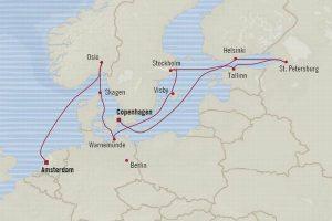 北欧・バルト海クルーズ