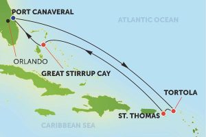 カリブ海クルーズ