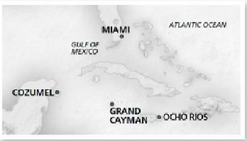 カーニバル・ビスタ 西カリブ海 6泊