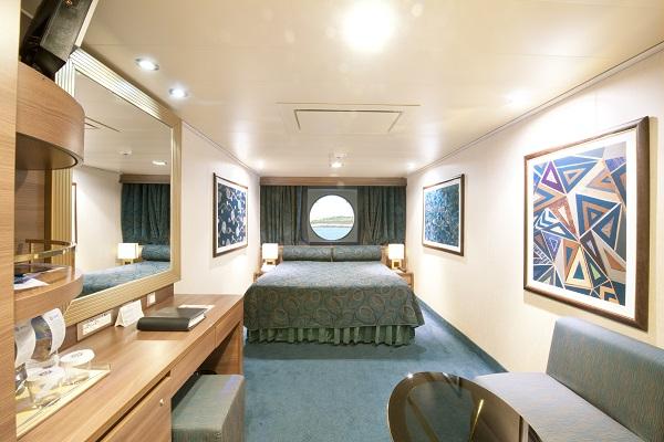 MSCクルーズ 海側客室
