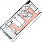 BalconyStateroom 3D-image
