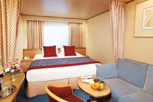 ホーランド・アメリカ Rクラス 海側客室