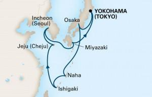 ホーランド アメリカ 2017年 日本発着