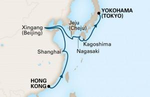 フォーレンダム 香港発横浜行き 中国&日本