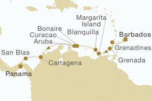 パナマ運河クルーズ