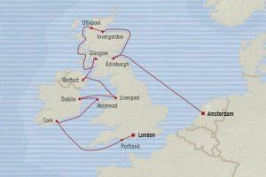 イギリス周遊クルーズ