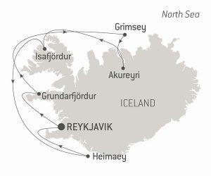 アイスランドクルーズ