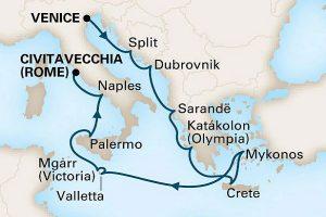ホーランド アメリカ ライン アドリア海の夢