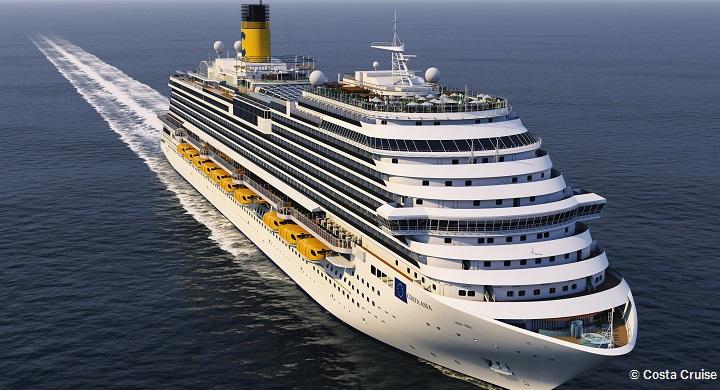 コスタベネチア 新造船