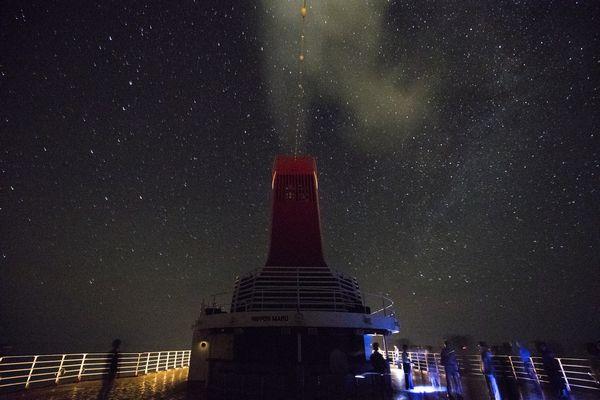 にっぽん丸星座観察