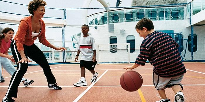ロイヤルカリビアン バスケットボール