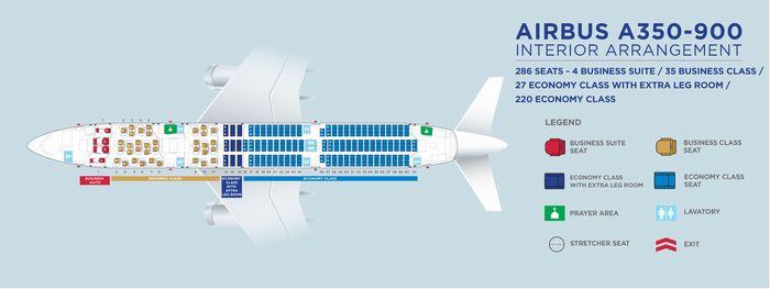 マレーシア航空A350