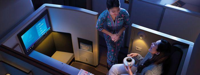 マレーシア航空ビジネススイート